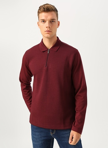 Cotton Bar Sweatshirt Bordo